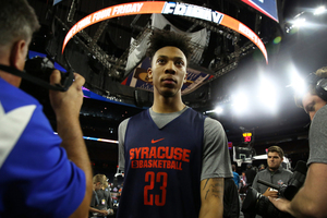 Malachi Richardson will find out his NBA fate in Thursday's draft at 8 p.m. in the Barclays Center.