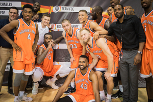 Boeheim's Army will face Overseas Elite in Baltimore at 9 p.m. Tuesday for a spot in The Basketball Tournament's championship game.