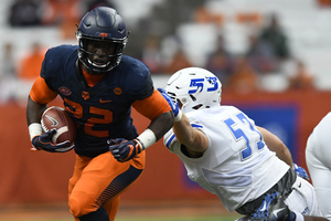 The Orange took control early en route to a 50-7 blowout, SU's fourth straight season-opening win.