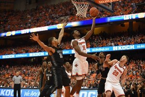 Taurean Thompson was one of two freshman to see consistent minutes last season for the Orange.